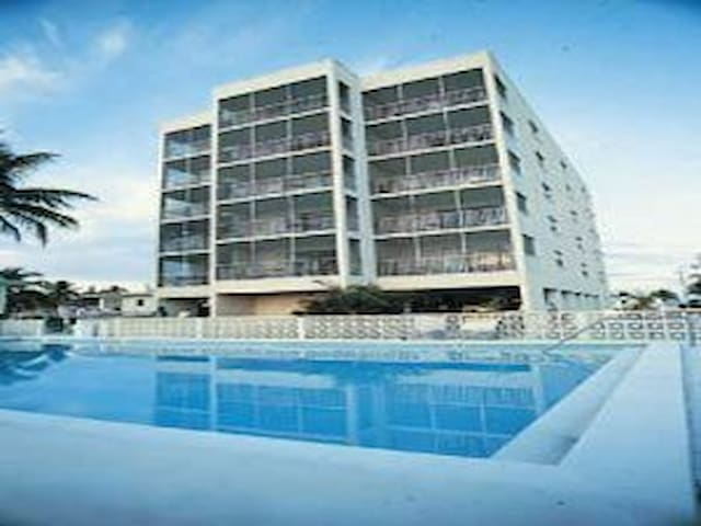 Beach Club 1. Right on beach. Ocean view. Sleeps 6 - Fort Myers Beach - (ไม่ทราบ)