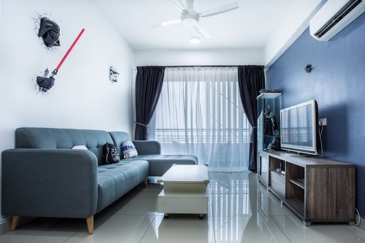Stardorm Ipoh Homestay[3bedrooms] Majestic Tower