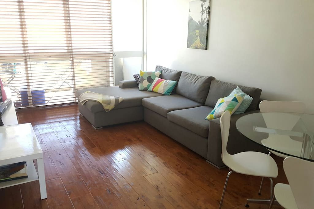 We are happy to share our living space with guests