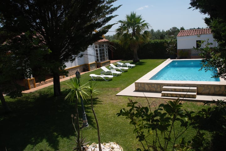 Villa Alegria,private pool,700m beach