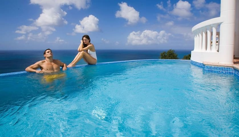 Windjammer Landing Private Pool Villa Sleeps 6 - Castries - Casa de camp