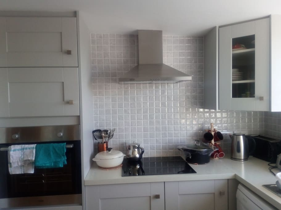 New Fitted Kitchen with Modern Appliances
