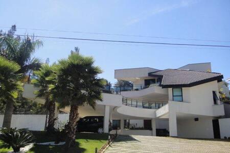 Casa fantástica em Alphaville luxo conforto beleza - Santana de Parnaíba - Rumah