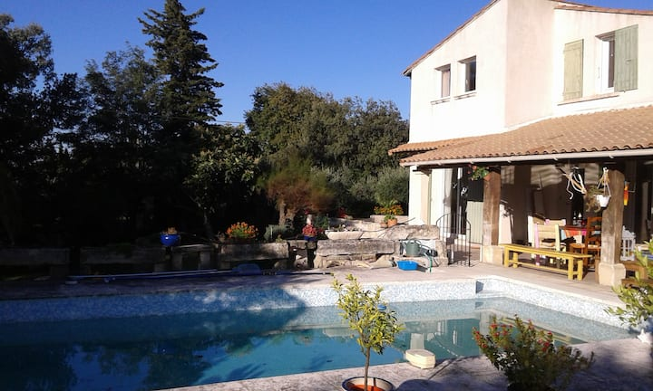 Gîte en Provence 3 chambres 3 sdb - Beaucaire