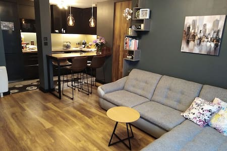 Double bedroom in a newly renovated apartment