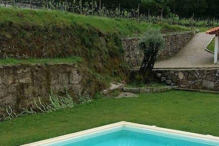 Casa de campo com 2 quartos - Arcos de Valdevez