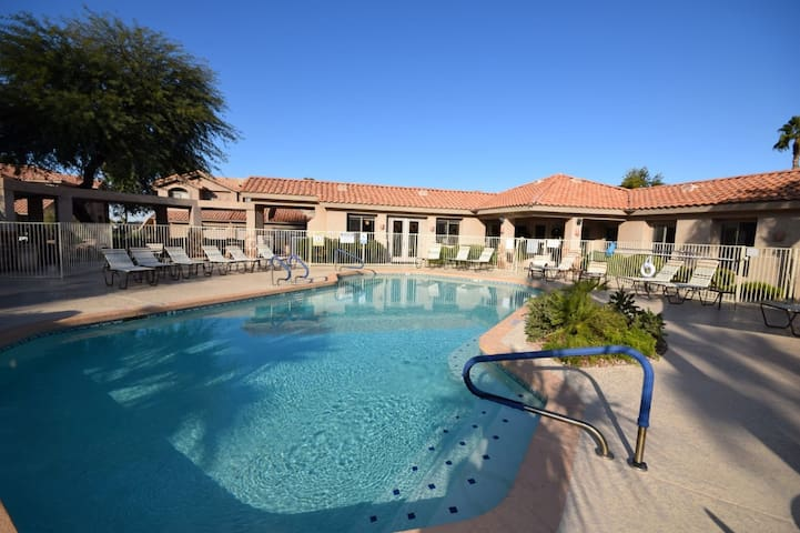 BEAUTIFUL CONDO WITH HEATED POOL IN A GATED RESORT