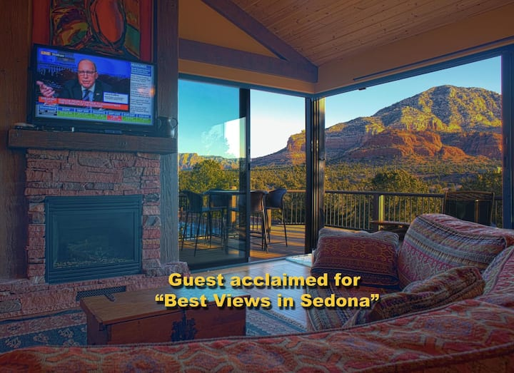 Suite Sedona* Stunning Views-Hike-Couples-Business