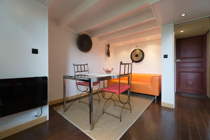 Nice apartment in a Castle clos Paris - Guigneville sur Essonne - Wohnung