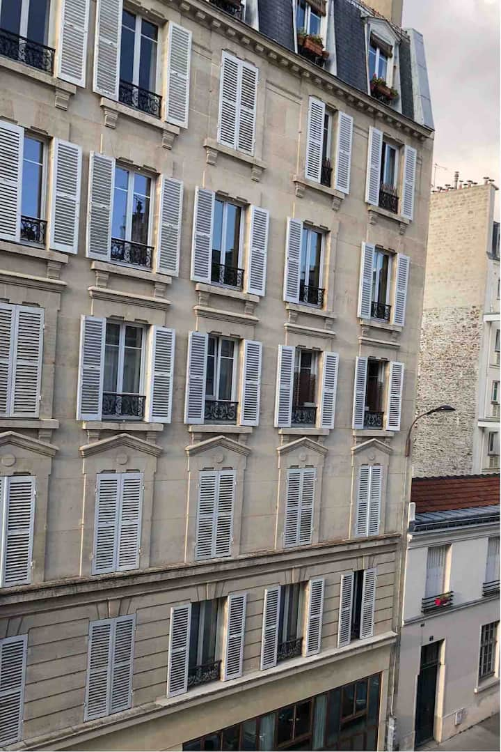 Studio charmant et cozy Paris Sud