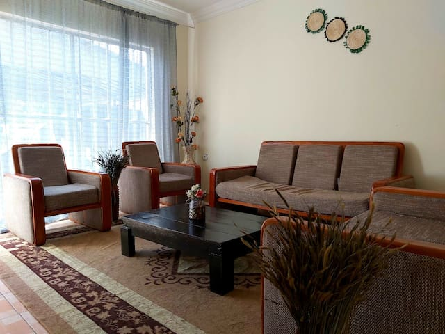 Comfy house in Addis, 5 mins from the Airport.