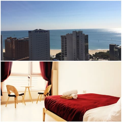 [Super Host]Top Ocean View Room - Haeundae-gu - Huoneisto