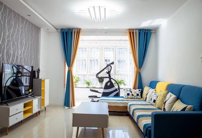 上海城黄浦苑北欧简约ins风两居公寓