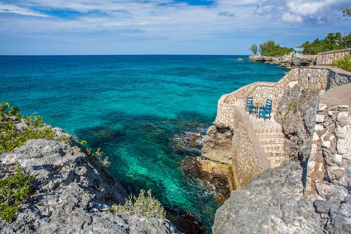 Little Waters on the Cliff: 111862 - Negril - Villa