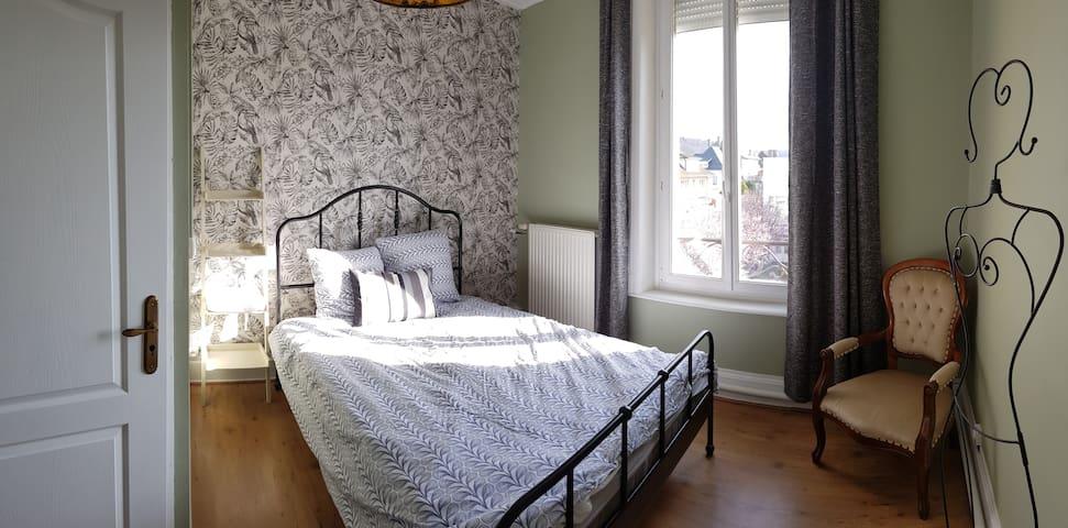 Chambre dans bel appartement ancien et cosy