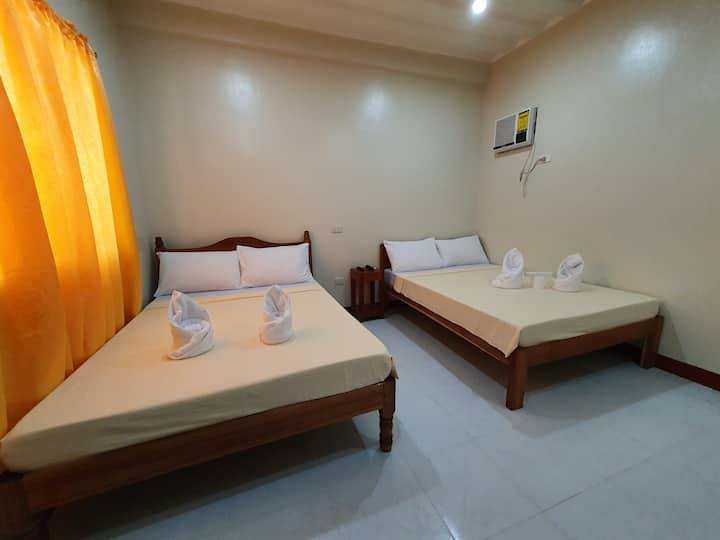 AMARAV Pension-Family Room with Private Bathroom