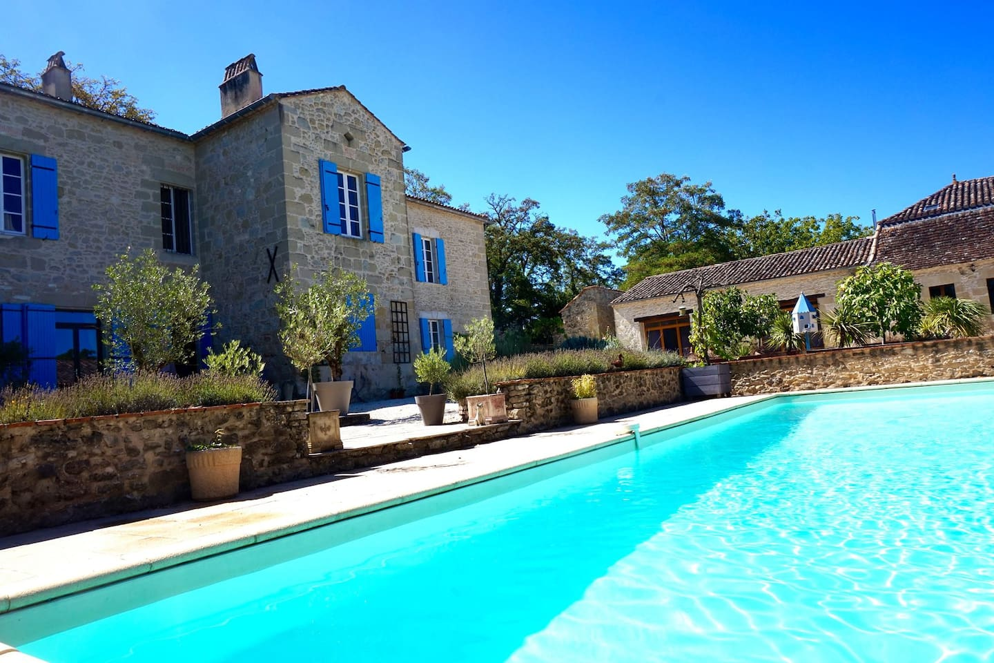 Chateau and private pool
