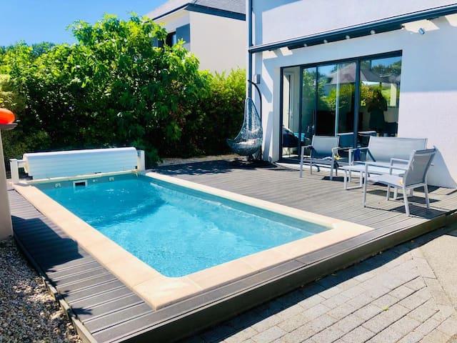 Maison avec piscine privée aux Portes de Bretagne