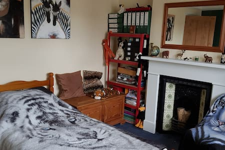 Single room in a relaxed atmosphere.