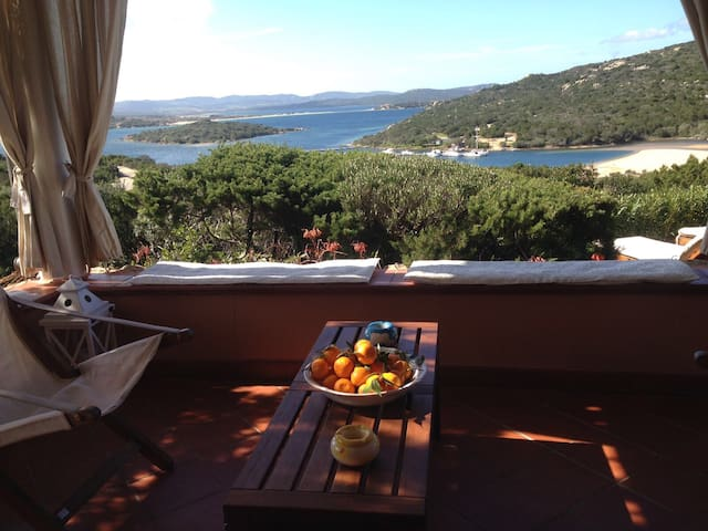 Townhouse corner sea view - Punta Sardegna - Adosado
