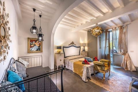 SWEET TUSCANY GOLD appartamento in centro storico