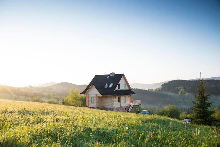 Domek na Zawojskim Przysłopiu