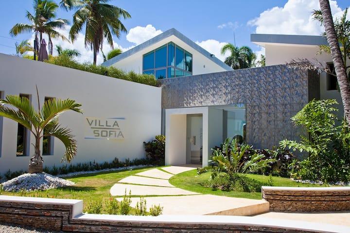 Villa Sofia,  unique concept and one of a kind.