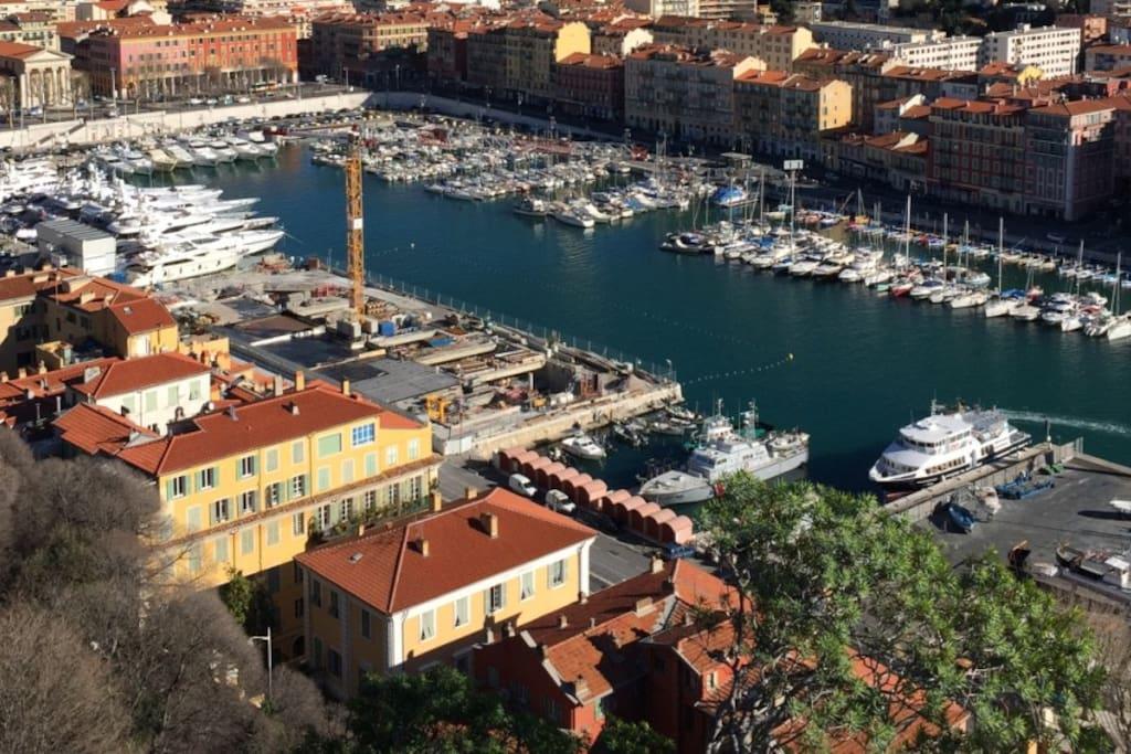 Port of nice 1 bedroom renovated free parking - Parking port nice ...