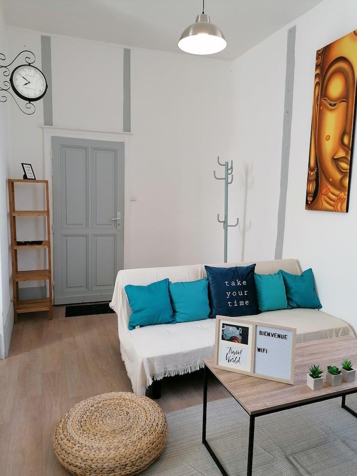 Appartement calme et cosy dans le Cœur de Bourges