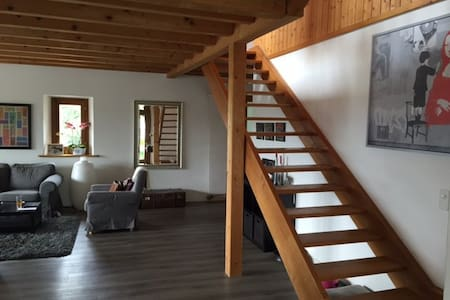 Beautiful appartment with view, 10 min from Geneva - Bellevue