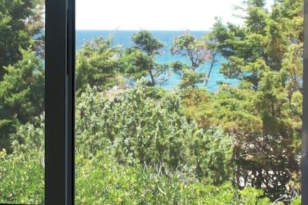 Appartamento primo piano a 50 metri dal mare - Torre Santa Sabina - Daire