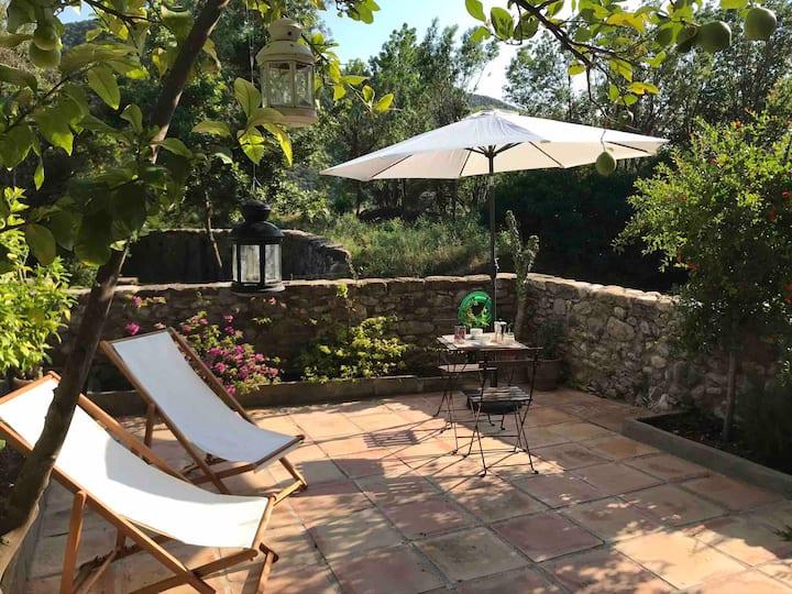 Acojedor apartamento con jardín en La Garrotxa