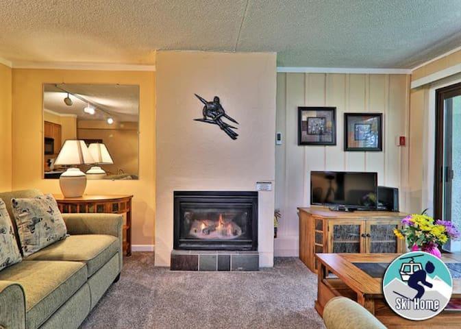 Newly renovated, cozy Condo - shuttle to Slopes/Ski home