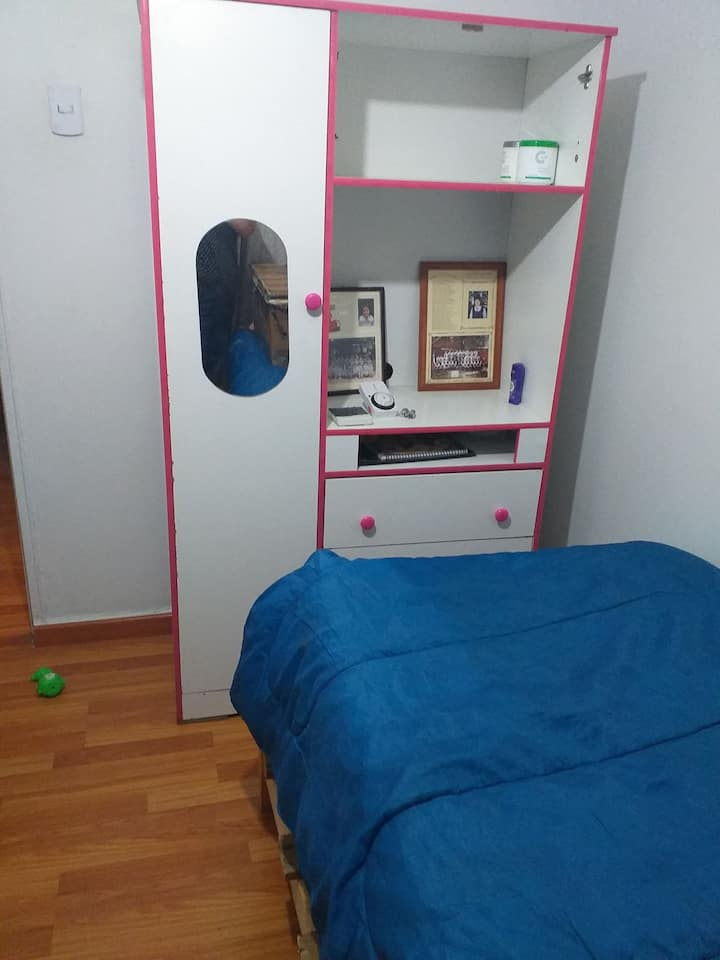 Departamento con espacio y bellas areas verdes