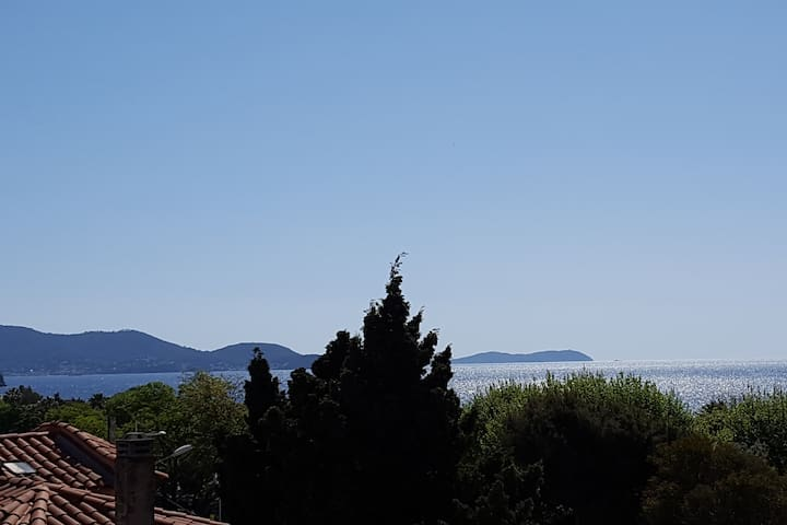 Studio bord de plage,vue mer au Mourillon-Toulon - Toulon - Appartement