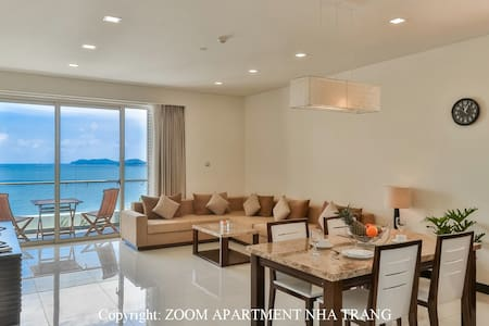 90sqm 1BR beachfront flat of The Costa Residence.2 - tp. Nha Trang - Lejlighed