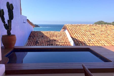 NEW Spacious and fully equipped casita with pool - Costa Careyes