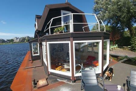 Woonboot/Houseboat/Hausboot in Haarlem - Haarlem - Tekne
