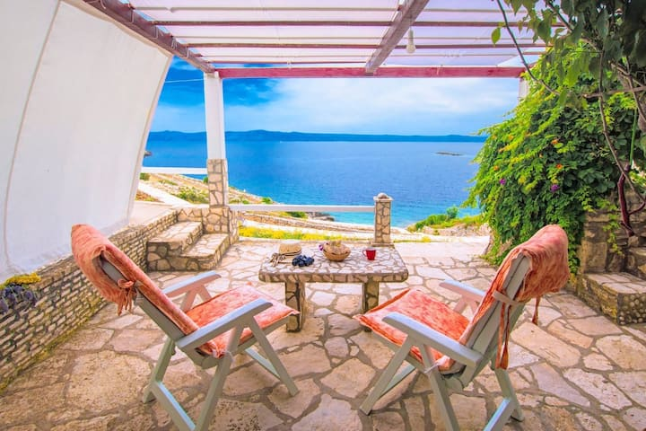 Holiday house Doria - perfect location & peaceful: Cove Stiniva (Vela Luka), Island Korcula