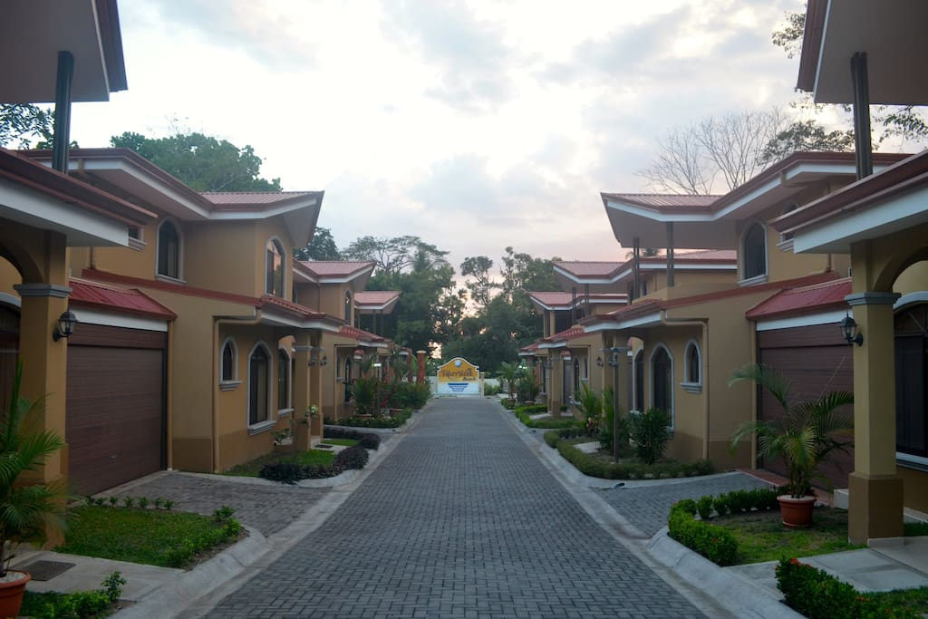 Private Road - End Unit on the left - across from the pool and beach