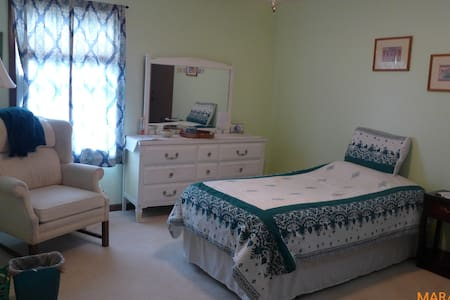 Large Master BR W/Bath & Own Private Outside Entry