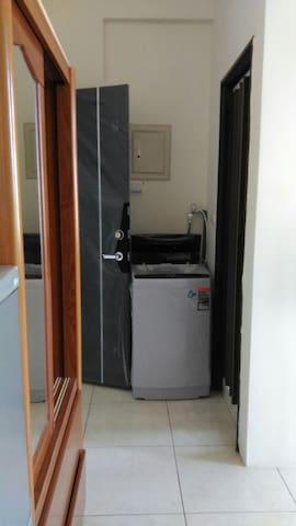 新豐火車站新興路368號 新豐湖口冷暖機、獨立出入、換洗用具與寢具都有