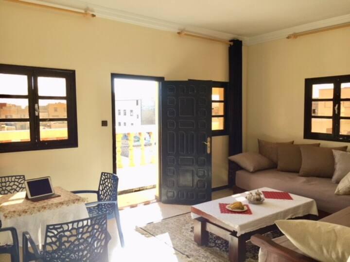 4 grands appartements lumineux au coeur de Dakhla