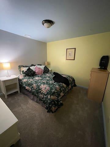 Bedroom #2;  Queen bed.