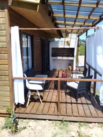 Dos dormitorios para 4 personas  en Punta Negra