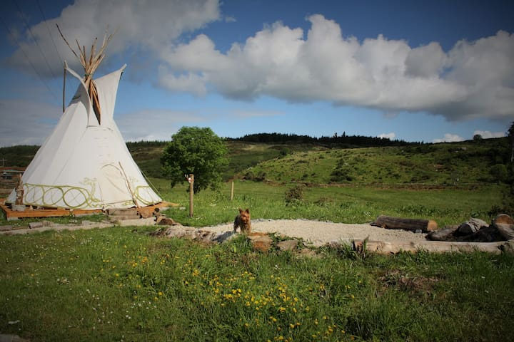 Little Tipi in the Hills of Donegal - Farmstay