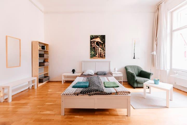 4 Bedrooms - Vintage Apartment