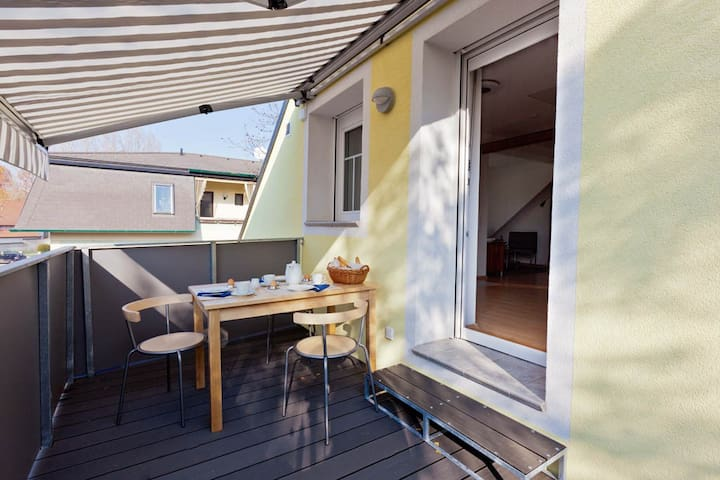 Studio-Apartment mit Dachterrasse - Mönchhof - Apartment