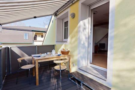 Studio-Apartment mit Dachterrasse - Mönchhof