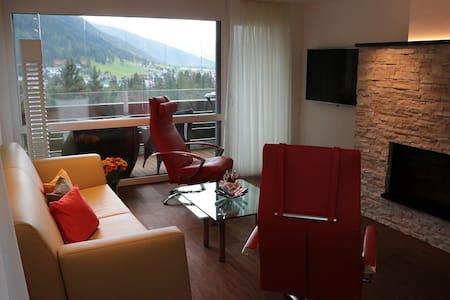Perfekte Ferienwohnung an optimaler Lage - 达沃斯 - 公寓